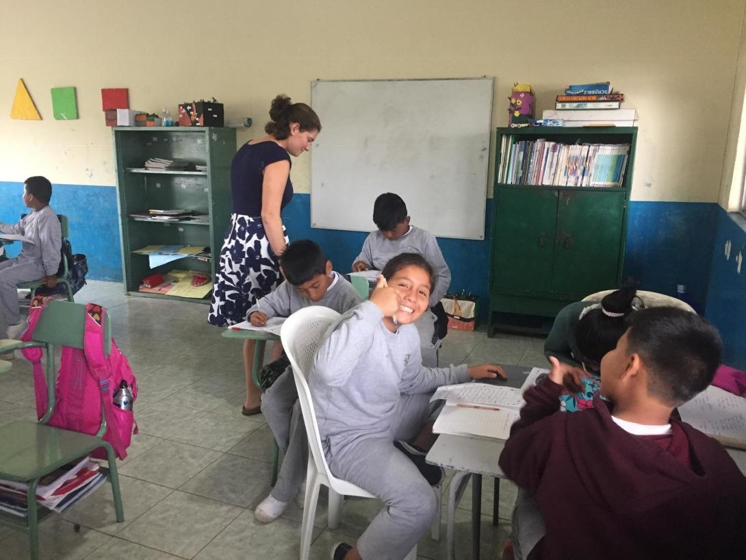 Sue H in Ecuador